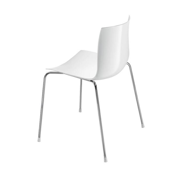 Arper Catifa 46 | 4-poots staal | Kunststof zitschaal
