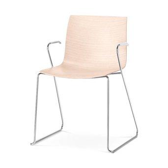 Arper Arper Catifa 46 | Technical sled | Wooden seat shell
