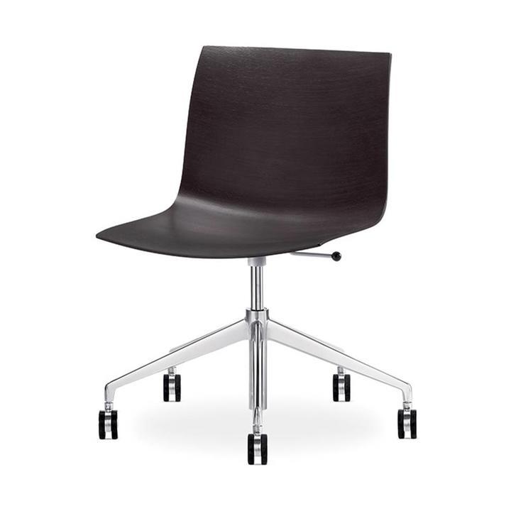 Arper Catifa 46 | Desk chair | Wooden seat shell