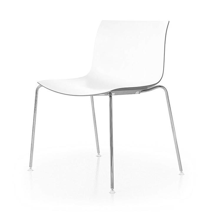 Arper Catifa 53 | 4-beinig Stahl | Sitzschale aus Kunststoff
