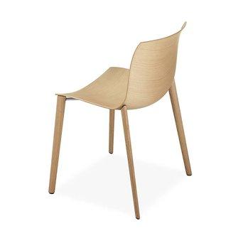Arper Arper Catifa 53 | Four-legged Wood | Wooden seat shell