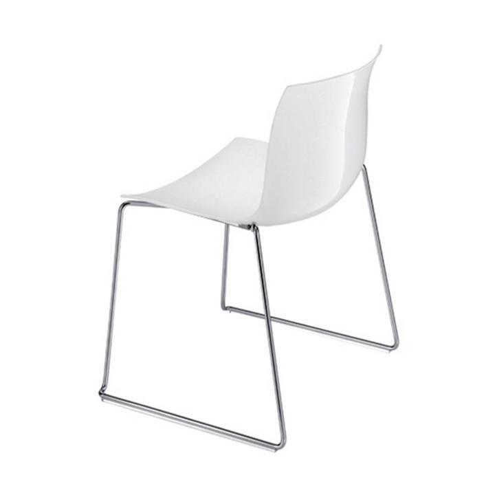 Arper Catifa 53 | Sled | Plastic seat shell