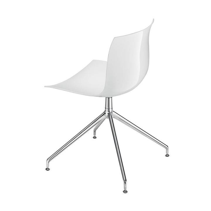 Arper Catifa 53   Kreuzfuß   Sitzschale aus Kunststoff