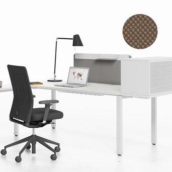 Vitra OUTLET | Vitra WorKit | Feststehender Schirm 100 für Einzelarbeitsplatz | Nova coffee