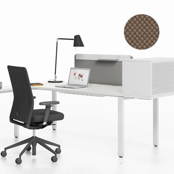 Vitra OUTLET | Vitra WorKit | Fixed screen 100 for single desk | Nova coffee