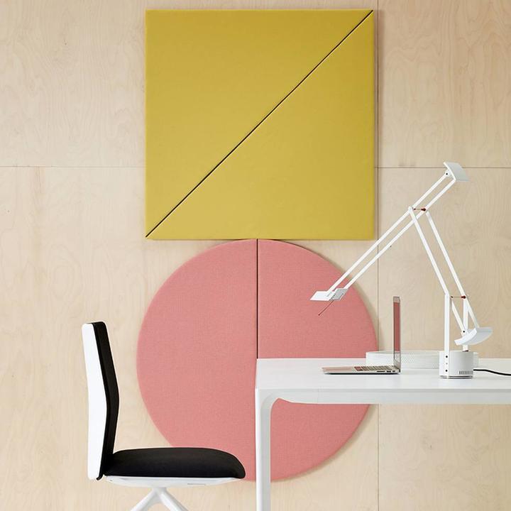 Arper Parentesit Wall Panel | Vierkant | Diagonaal | L 95 x B 95 cm
