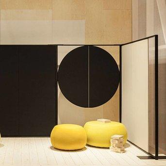 Arper Arper Parentesit Freestanding | Rond | B 152 x H 180 cm