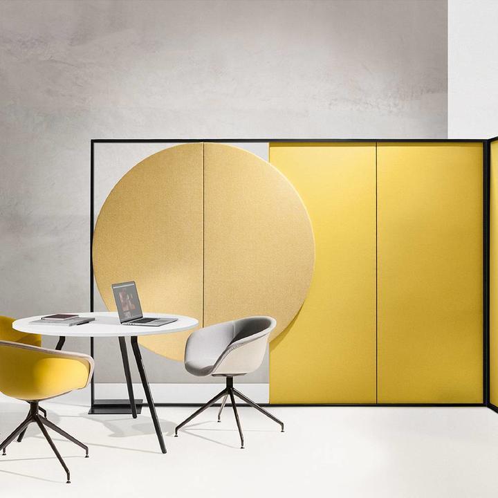 Arper Parentesit Freestanding | Rectangular | B 260 x H 180 cm