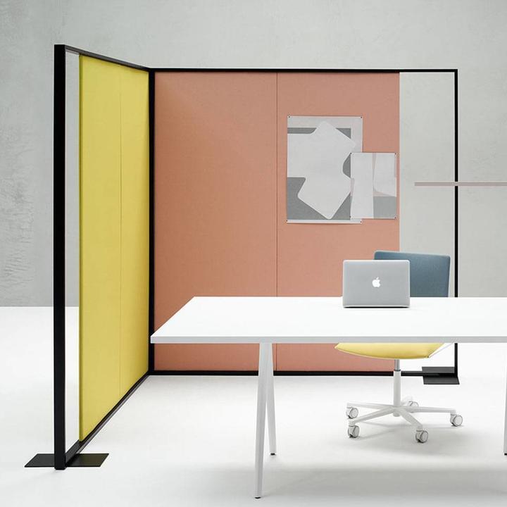 Arper Parentesit Freestanding   Rectangular   L 162 x H 180 cm