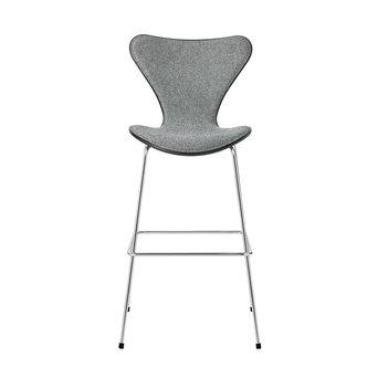 Fritz Hansen Fritz Hansen Series 7 | 3187 | Counter stool | Front upholstery | Coloured ash