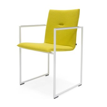 Arco OUTLET | Arco Frame Adjustable | White steel | Mustard hallingdal 420