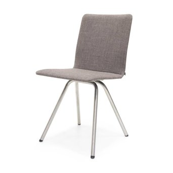 Arco OUTLET   Arco Reset 1   Stainless steel   Brown upholstered