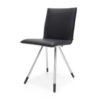 Arco OUTLET | Arco Mikado | Stainless steel | Black leather