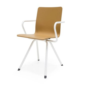 Arco OUTLET | Arco Reset 2 | White steel | Brown plastic