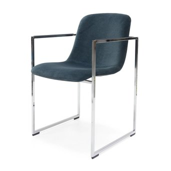 Arco OUTLET | Arco Frame 2.0 | Chromed steel | Dark blue harald 182