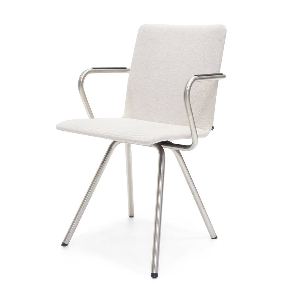 Outlet Stoelen Design.Sale Arco Reset 2 Stainless Steel White Hallingdal 100