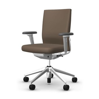 Vitra OUTLET | Vitra ID Soft | Coffee plano 80 | Aluminium | 3D armrests