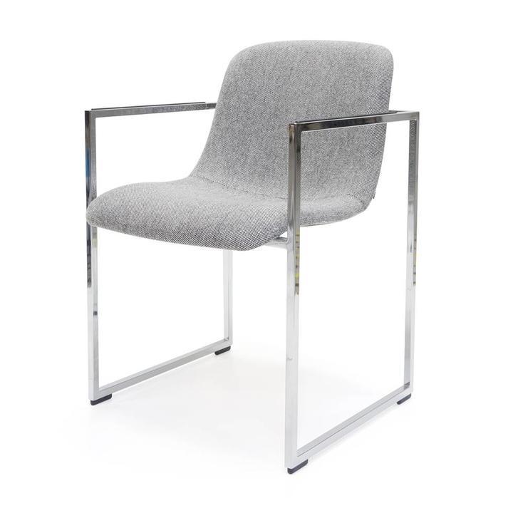 Outlet Stoelen Design.Sale Arco Frame 2 0 Xl Chromed Steel Grey Hallingdal 130
