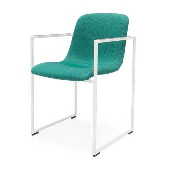 Arco OUTLET | Arco Frame 2.0 | White steel | Green / blue balder 862