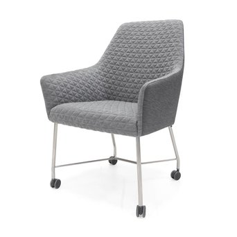 Arco OUTLET | Arco Sketch Dining F | Edelstahl | Grau triangle chalk