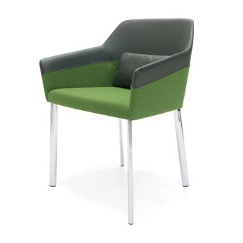 Arco OUTLET | Arco Sketch Regular B | Chromed steel | Green ohmann 1012 7876 | Green hallingdal 960