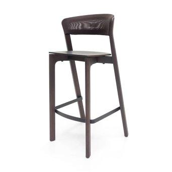 Arco OUTLET | Arco Cafe Stool | Zithoogte 75 cm | Bruin eiken morado