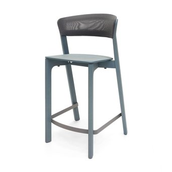 Arco OUTLET | Arco Cafe Stool | Seat height 65 cm | Blue oak