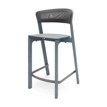 Arco OUTLET | Arco Cafe Stool | Zithoogte 65 cm | Blauw eiken