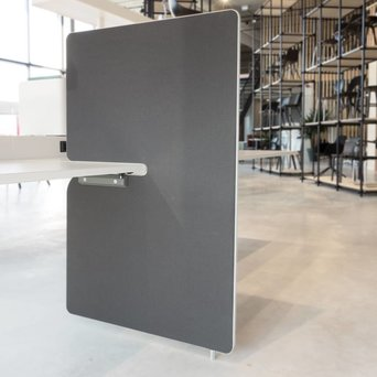 Vitra OUTLET | Vitra Joyn seitenwand | 80 x 122 cm | Dunkelgrau plano