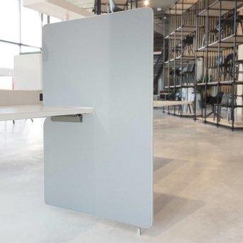 Vitra OUTLET | GEBRUIKT | Vitra Joyn zijwand | 80 x 122 cm | Grijs plano