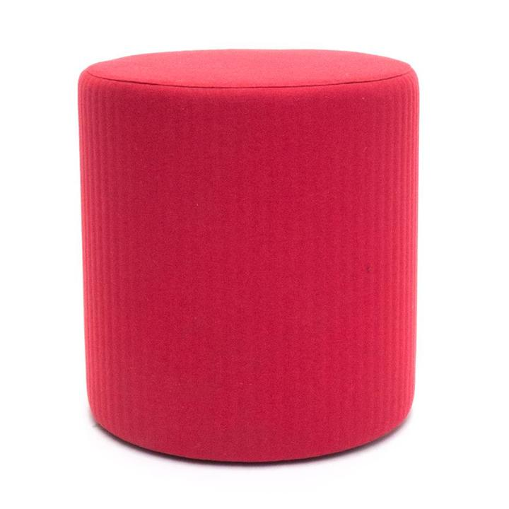 OUTLET | BuzziSpace BuzziSpot | Red upholstery | Incl. wheels