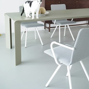 Arco OUTLET | Arco Reset 2 | Grey steelcut trio 133 | White steel