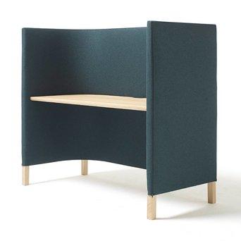 Arco OP=OP | Arco Side by Side WORK | 150 x 70 x 133 cm | Bruin eiken naturel | Groen divina melange 871