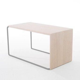 Arco OUTLET | Arco Setup 1 | 56 x 32 x 30 cm | Hellgrau stahl | White wash eiche