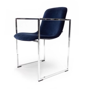 Arco OUTLET | Arco Frame II | Verchroomd staal | Blauw Harald 792