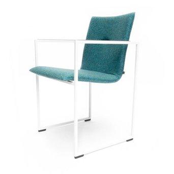 Arco OUTLET | Arco Frame I | Green Divina Melange 871 | White steel