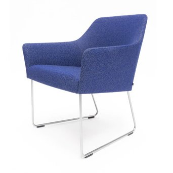 Arco OUTLET   Arco Sketch Lobby A   Stainless steel   Blue Masai 772