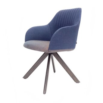 Arco OUTLET | Arco Ease H | Braun eiche morado | Blau canvas 794 | Braun canvas 764
