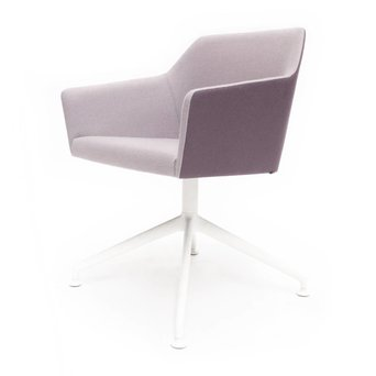 Arco OUTLET | Arco Sketch Lobby C | Wit staal | Paars Hero 381 | Roze Hero 601