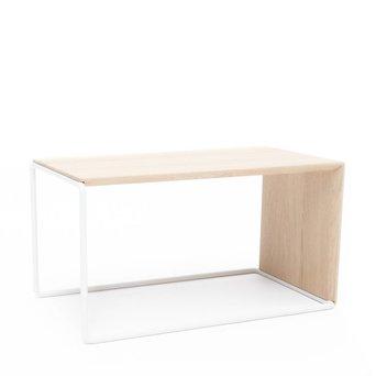 Arco OUTLET | Arco Setup 1 | 64 x 40 x 34 cm | Bruin eiken naturel | Wit staal