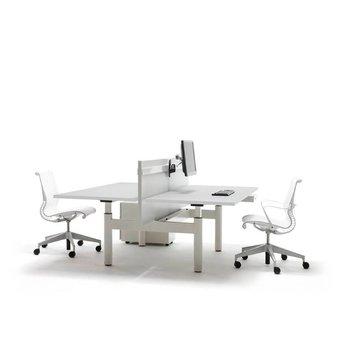 Gispen Gispen TM | Dual workstation | Crank adjustment | Own table tops