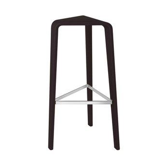 OUTLET | Arper Ply | Bar stool | 76 cm | Black oak