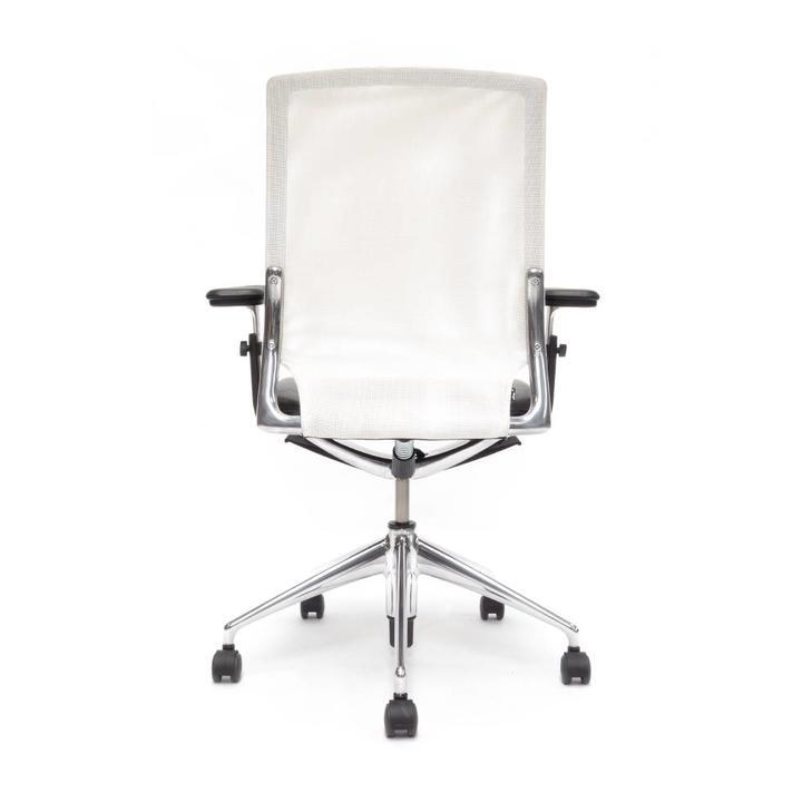 Refurbished Vitra Meda Chair | Wit | Zwart