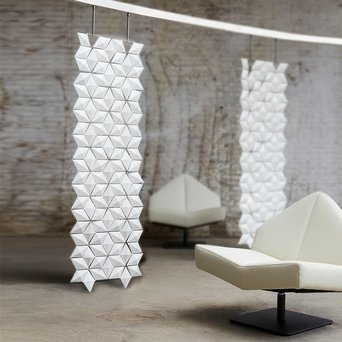 Bloomming Bloomming Facet Room Divider | Hanging | W 68 x H 230 cm