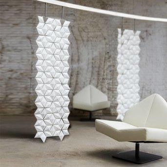Bloomming Facet Room Divider   Hangend   B 68 x H 230 cm