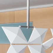 Bloomming Facet Room Divider | Hanging | W 136 x H 210 cm
