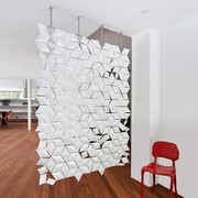 Bloomming Facet Room Divider | Hangend | B 136 x H 210 cm