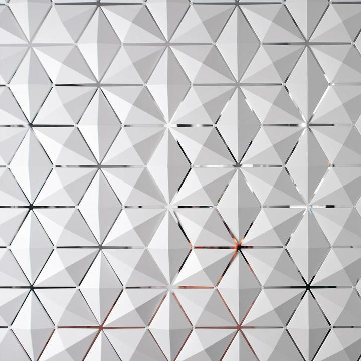 Bloomming Facet Room Divider | Hangend | B 136 x H 230 cm