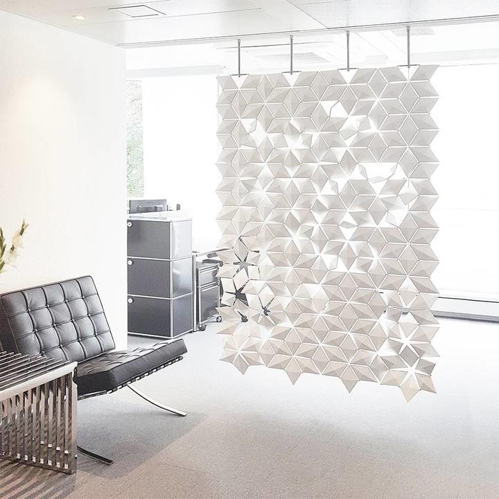Bloomming Facet Room Divider | Hanging | W 136 x H 230 cm