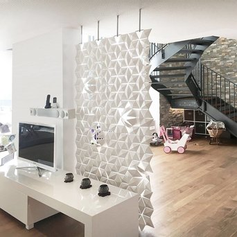 Bloomming Facet Room Divider | Hangend | B 136 x H 249 cm